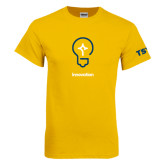 Gold T Shirt-Innovation Icon