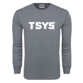 Charcoal Long Sleeve T Shirt-TSYS