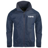 Navy Charger Jacket-TSYS