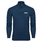 Syntrel Navy Interlock 1/4 Zip-TSYS