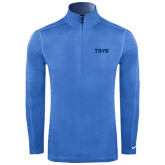 Nike Sphere Dry 1/4 Zip Light Blue Pullover-TSYS