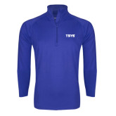 Sport Wick Stretch Royal 1/2 Zip Pullover-TSYS