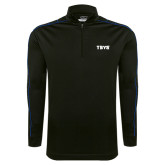 Nike Golf Dri Fit 1/2 Zip Black/Royal Pullover-TSYS