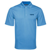 Light Blue Mini Stripe Polo-TSYS