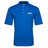 Nike Golf Dri Fit Royal Micro Pique Polo-TSYS