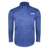 Red House French Blue Long Sleeve Shirt-TSYS