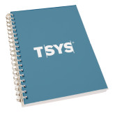 Clear 7 x 10 Spiral Journal Notebook-TSYS