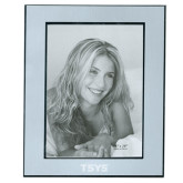 Silver Two Tone 8 x 10 Photo Frame-TSYS Engraved