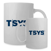 Full Color White Mug 15oz-TSYS
