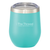 Corzo Vacuum Insulated Mint Cup 12oz-The Thread Engraved
