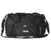 High Sierra Black Switch Blade Duffel-TSYS