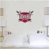 2 ft x 3 ft Fan WallSkinz-Troy Trojans Shield