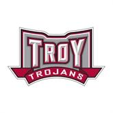 Medium Decal-Troy Trojans Wide Shield, 8 in W