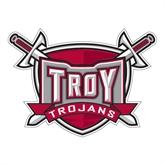 Large Decal-Troy Trojans Shield, 12 in W