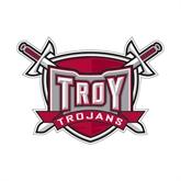Small Decal-Troy Trojans Shield, 6 in W