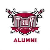 Alumni Decal-Troy Trojans Shield, 6 in W