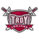 Extra Large Decal-Troy Trojans Shield, 18 in W