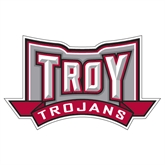 Extra Large Decal-Troy Trojans Wide Shield, 18 in W