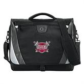 Slope Black/Grey Compu Messenger Bag-Troy Trojans Shield