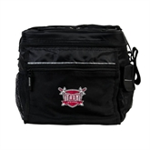 All Sport Black Cooler-Troy Trojans Shield
