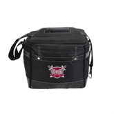 Precision Black Bottle Cooler-Troy Trojans Shield