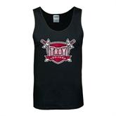 Black Tank Top-Troy Trojans Shield