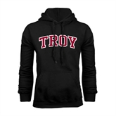 Black Fleece Hoodie-Arched Troy