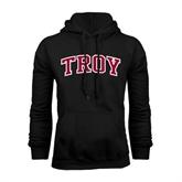 Black Fleece Hoodie-Arched Troy