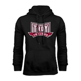 Black Fleece Hood-Troy Trojans Wide Shield