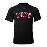 Under Armour Black Tech Tee-Arched Troy