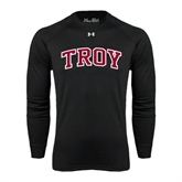 Under Armour Black Long Sleeve Tech Tee-Arched Troy