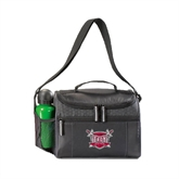 Edge Black Cooler-Troy Trojans Shield
