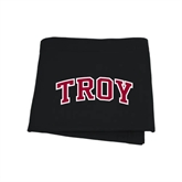 Black Sweatshirt Blanket-Arched Troy
