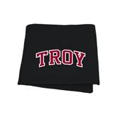 Black Sweatshirt Blanket-Arched Troy