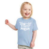 Toddler Light Blue T Shirt-Troy Trojans Shield