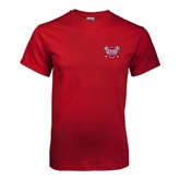 Cardinal T Shirt-Troy Trojans Shield