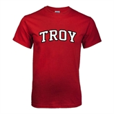 Cardinal T Shirt-Arched Troy