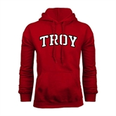 Cardinal Fleece Hoodie-Arched Troy