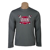 Syntrel Performance Steel Longsleeve Shirt-Troy Trojans Shield
