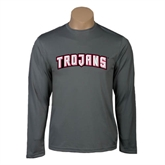Syntrel Performance Steel Longsleeve Shirt-Arched Trojans
