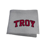 Grey Sweatshirt Blanket-Arched Troy