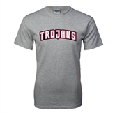 Grey T Shirt-Arched Trojans