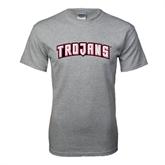 Grey T Shirt-Arched Trojans