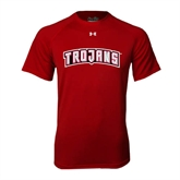 Under Armour Cardinal Tech Tee-Arched Trojans
