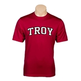 Performance Cardinal Tee-Arched Troy