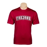 Performance Cardinal Tee-Arched Trojans