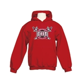 Youth Cardinal Fleece Hoodie-Basketball