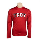 Syntrel Performance Cardinal Longsleeve Shirt-Arched Troy