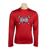 Performance Cardinal Longsleeve Shirt-Football
