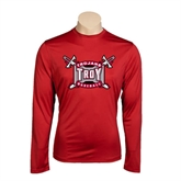 Syntrel Performance Cardinal Longsleeve Shirt-Baseball